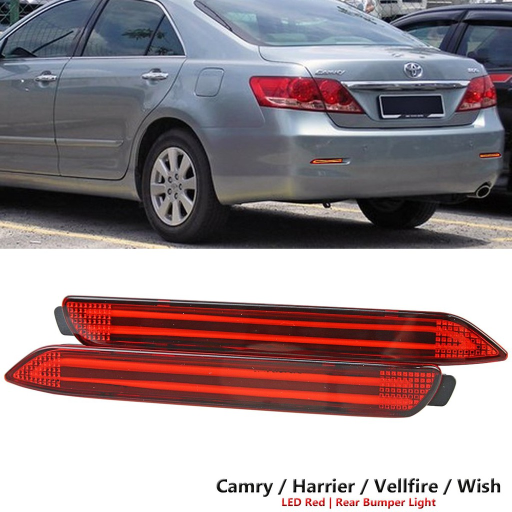 LED Rear Bumper Reflector light Stop lamp for VW Volkswagen Jetta 2012- 2014 | Shopee Malaysia