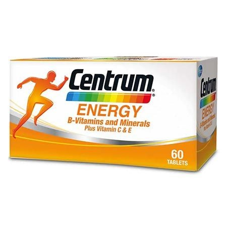 Centrum Energy 60 S B Vitamins Minerals Plus Vitamin C E Shopee Malaysia