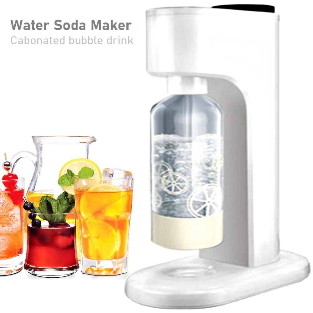 Water Soda Maker Sparkling CO2 Carbonated Drink Bubble Beverage Seltzer Carbonator Machine