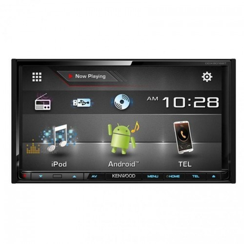 Kenwood DDX6016BT 7inch WVGA Capacitive Touch Screen AV Receiver