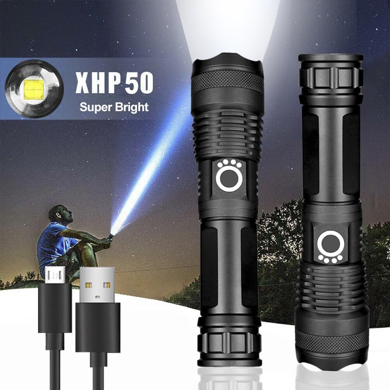 Xinsite X80 Torchlight with USB Charger, lampu suluh, flashlight, camping, cahaya
