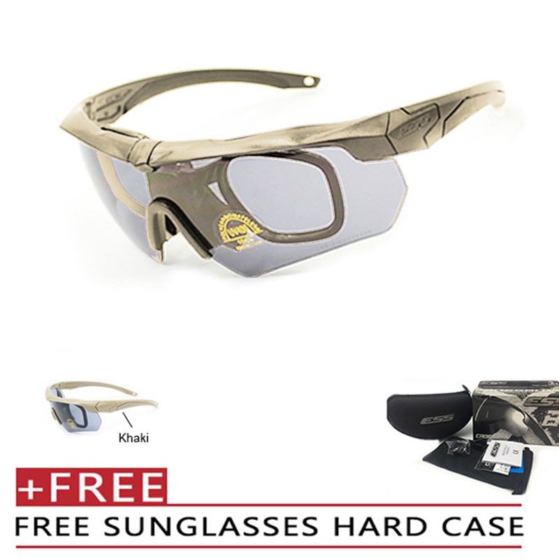 ESS Goggles Crossbow Rx Insert Tactical Glasses Sports Eyewear Goggle for mens