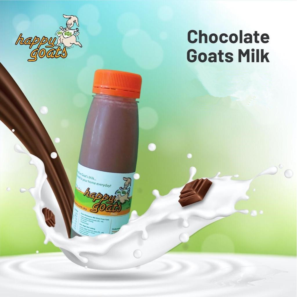 Happy Goats Chocolate Goats Milk (Penang Only)