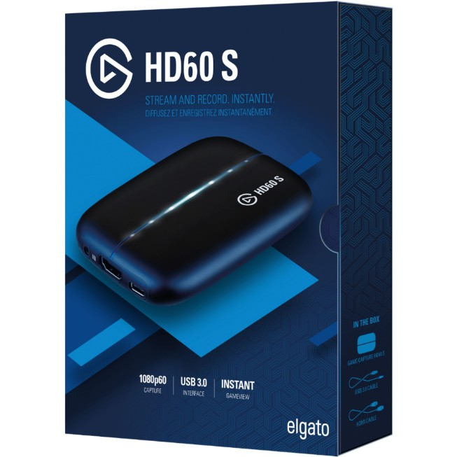 # Elgato HD60S External Full HD 60FPS Video Game Capture/Streaming Card #