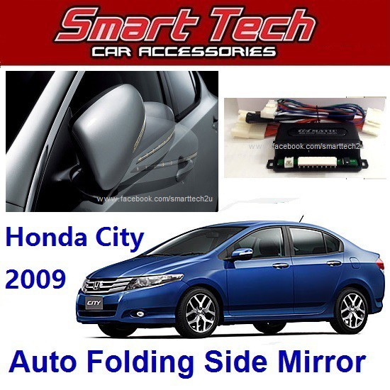 Honda City 2009 Auto Folding Side Mirror System | Shopee Malaysia