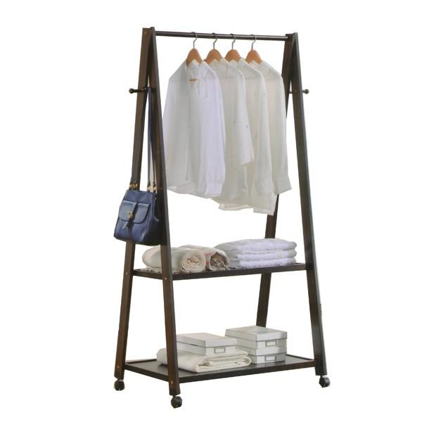 1517 Wooden garment rack coat hanger