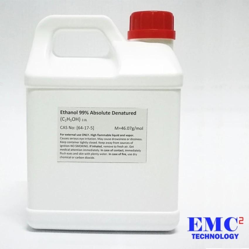 Ethanol (Ethyl Alcohol) Absolute 99% Denatured 2L / 5L