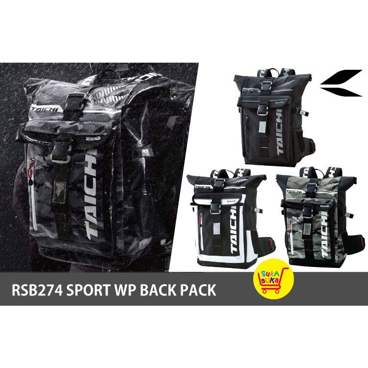 ead765028b RS Taichi RSB274 25L Sport Waterproof Motorcycle Backpack