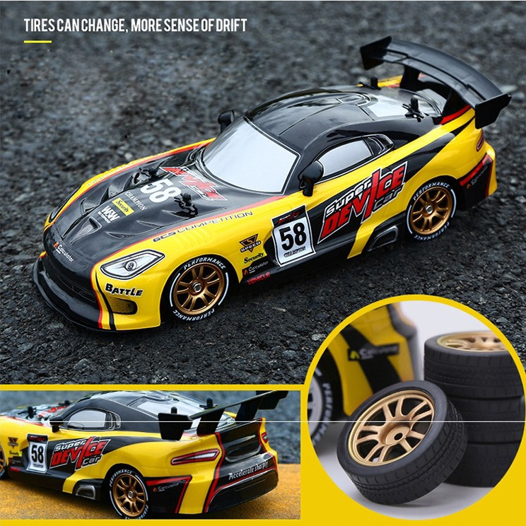 Ready Stock Drift Racing Rc Car Kereta Control Gtr Model 4wd 2 4g Off Road Rockster Remote Control Vehicle Electronic Hobby Toys Shopee Malaysia