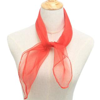 Red Shukan Fashions Paisley Style Bandana Biker Cow Boy Cow Girl Neck Scarf Neck Wrist Wrap