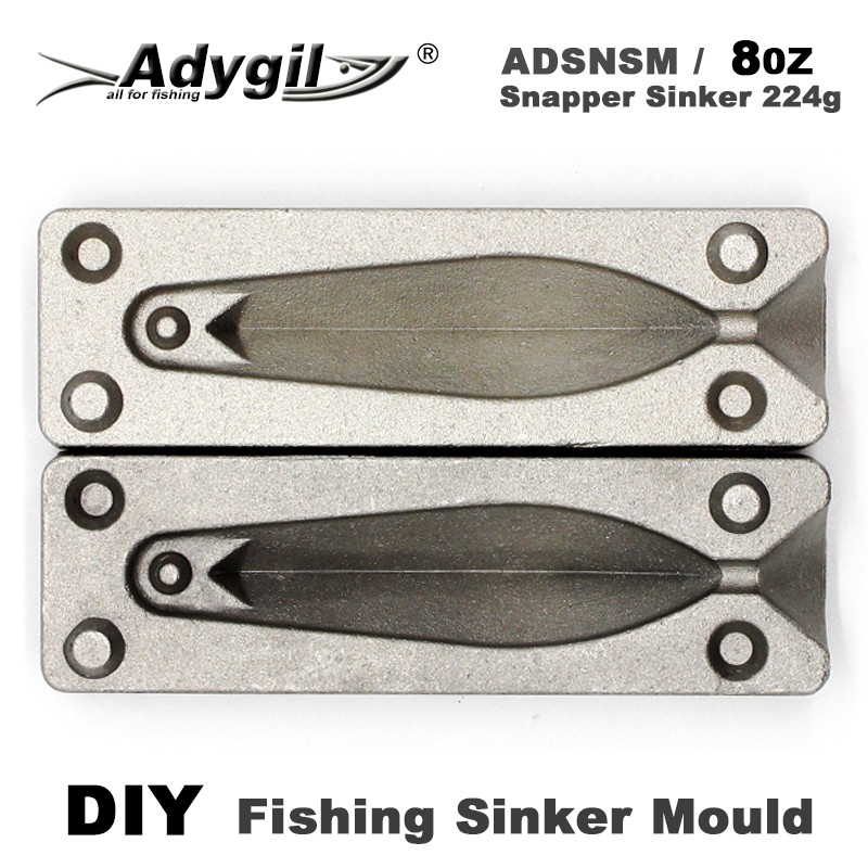 sea fishing weight mould 6 and 8 oz new