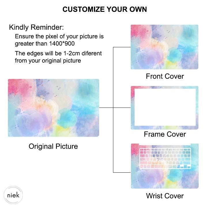 Po Customize Laptop Skin Sticker Shopee Malaysia