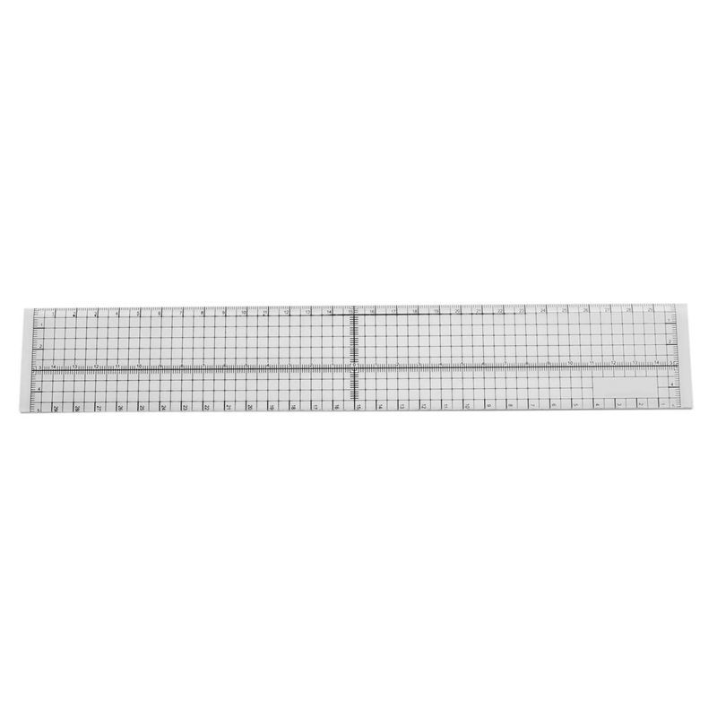 Sewing Patchwork Tailor Foot Aligned Ruler Quilting Grid Cutting DIY Craft 15cm