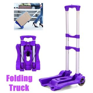2b40cb7c59a3 Aluminium Heavy Duty Folding Hand Truck Cart Moving Dolly Trolley ...