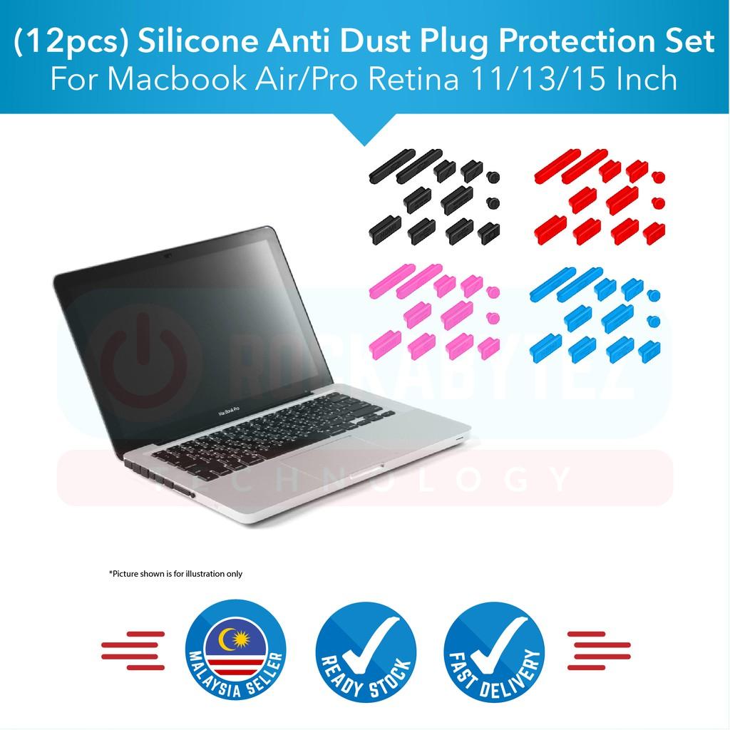 Port Cover For Macbook Air 11 13 Pro 13 15 Retina Silicone Plug set