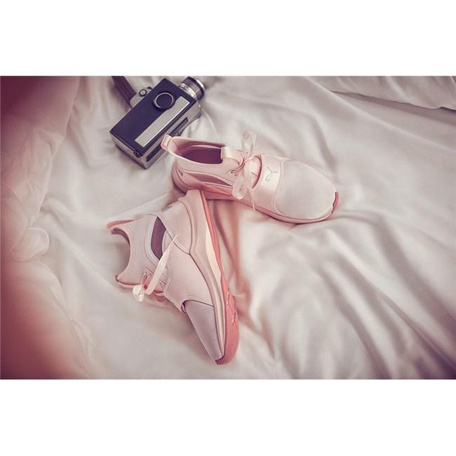 ecd59ffcc4fbcb Puma Phenom Satin EP Selena Gomez pink color low top womens sport training  shoes