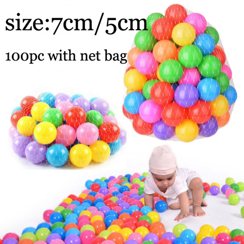 Lovely Lot Baby Kid Secure Pit Toy Swim Soft Plastic Fun Colorful Ocean Balls