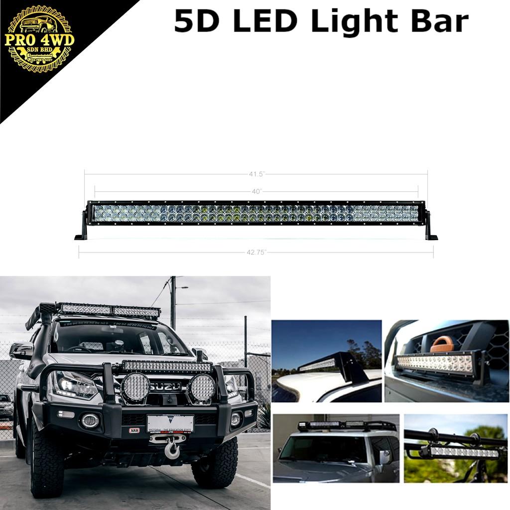 "Slim 38/""inch 180W LED Light Bar Combo Single Row Work Driving Lights 4X4 SUV ATV"