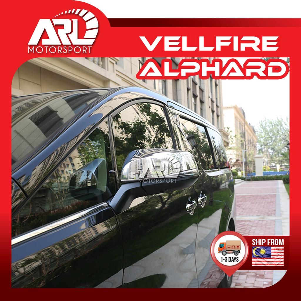 Toyota Alphard / Vellfire (2015-2020) AH30 AGH30 Side Mirror Cover Protector Chrome Car Auto Acccessories ARL Motorsport