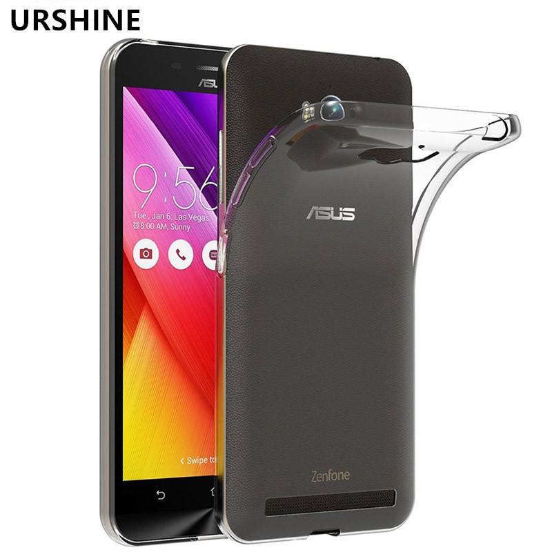 brand new b182d b92bd Casing Asus Zenfone Max ZC550KL Z010D Z010DA Soft Transparent TPU Silicone  Cover