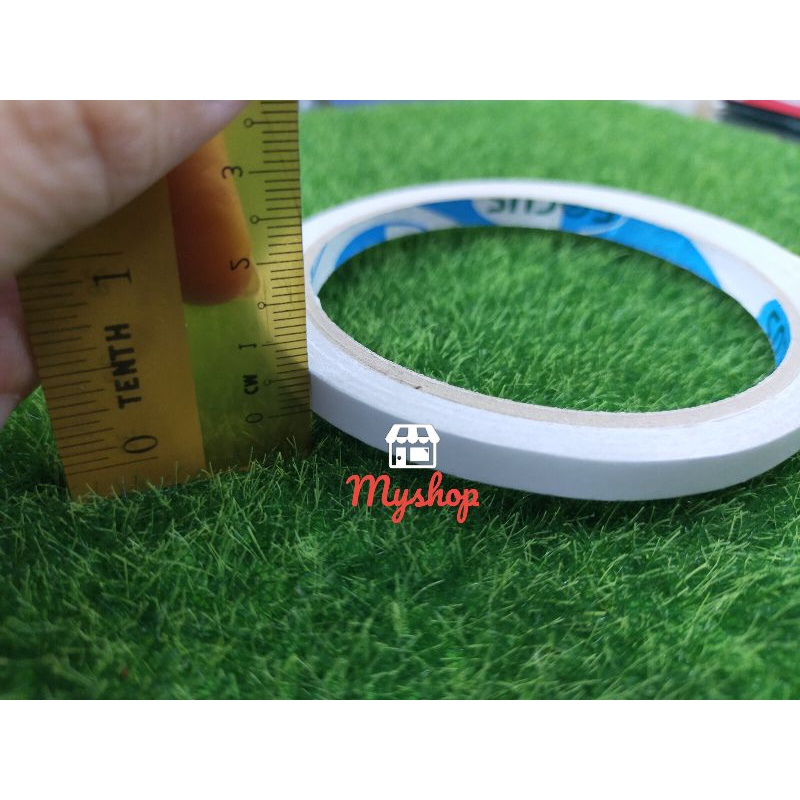 Double Sided Tissue Tape Adhesive 12mm / 18mm / 24mm/48mm x 20yards/18 Meter