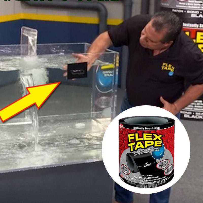 Flex Tape Super Waterproof Adhesive For Home Repairs Seals