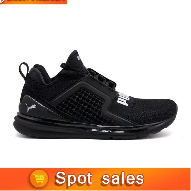 Puma Ignite Limitless Sepatu Olahraga Lari Pria  d6babb9a10