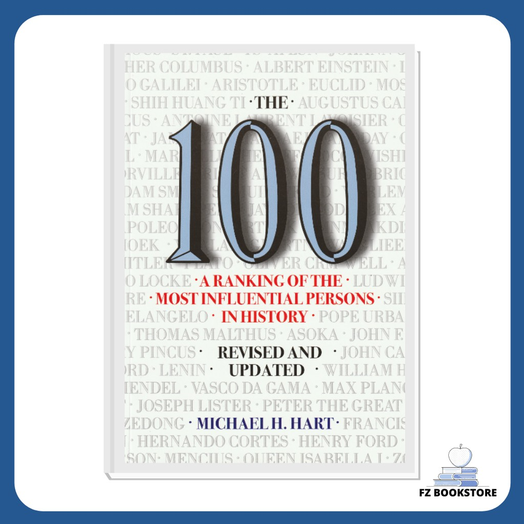 The 100 ・A Ranking of the Most Influential Persons in History - Revised & Updated - Michael H. Hart - English Book