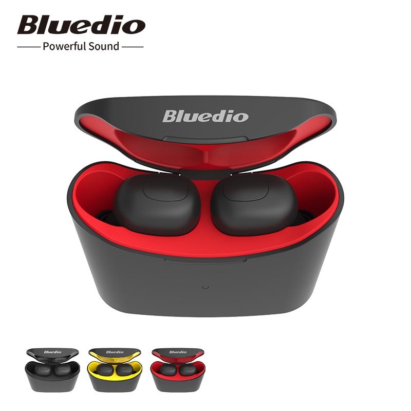 Bluedio T-elf Mini bluetooth earphone stereo true wireless earbuds with mic