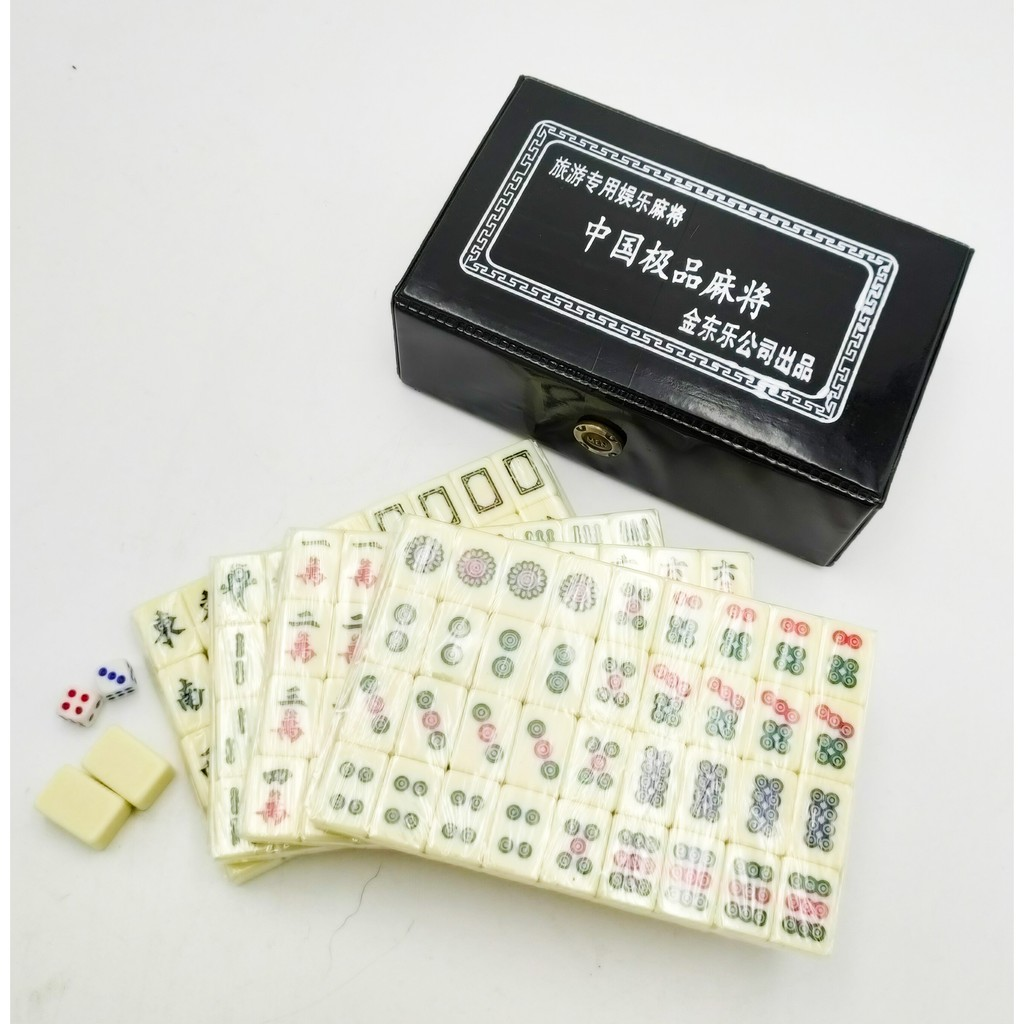 [Ready Stock] 迷你旅游麻将Chinese Travel Mahjong Mini Size [Fast Delivery]