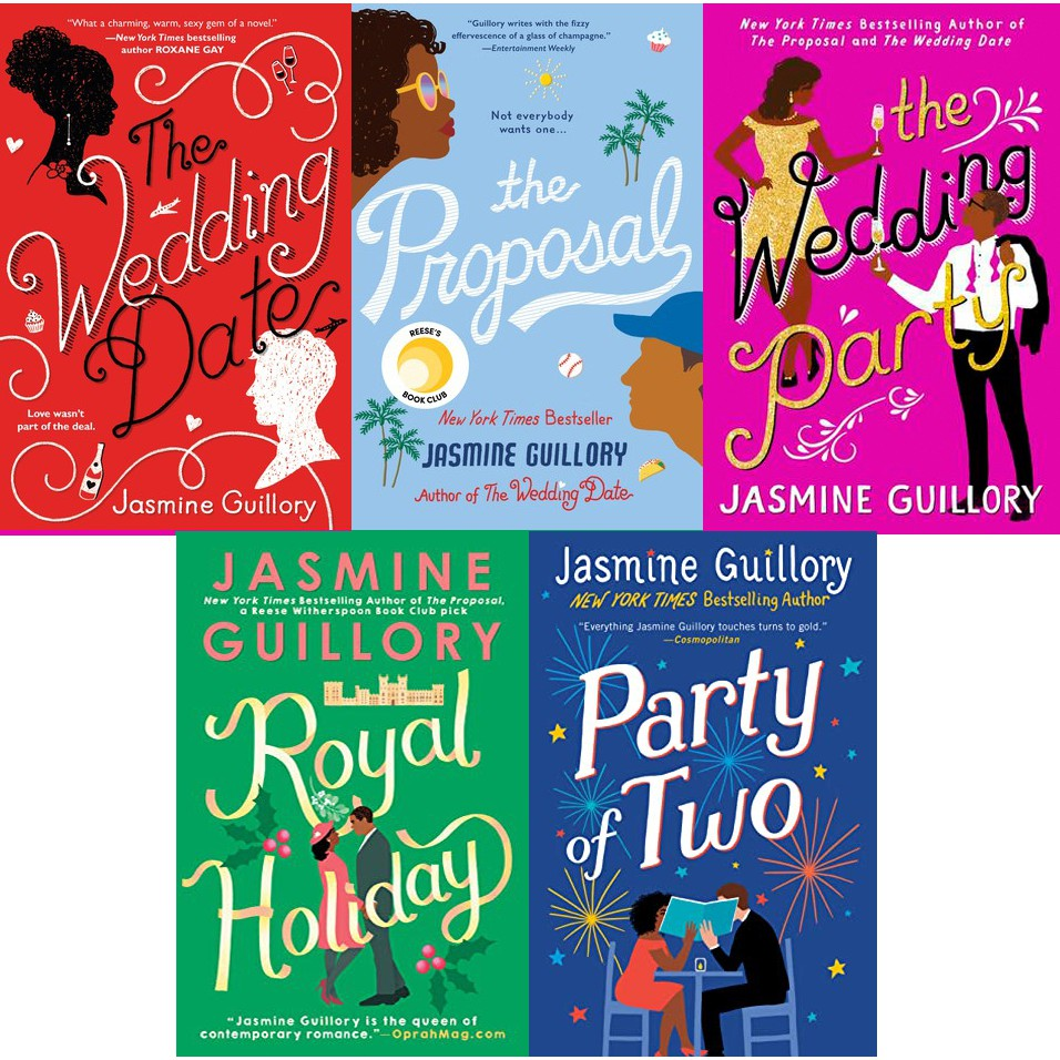 eBook] The Wedding Date Series (#1 - 5) by Jasmine Guillory ...