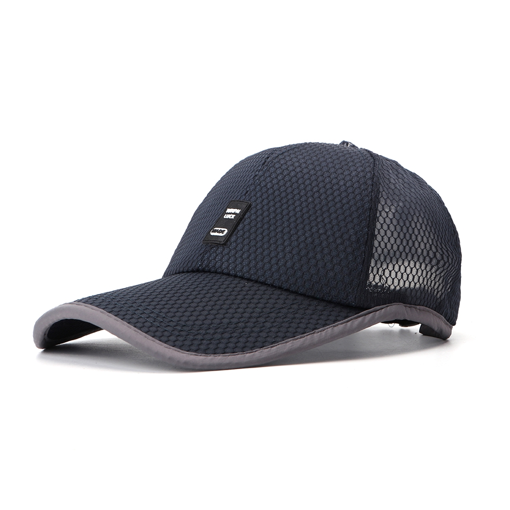 6b58ef5658a1ad ProductImage. ProductImage. Men Summer Cotton Mash Breathable Baseball Hat  Outdoor Casual Sunscreen Hat