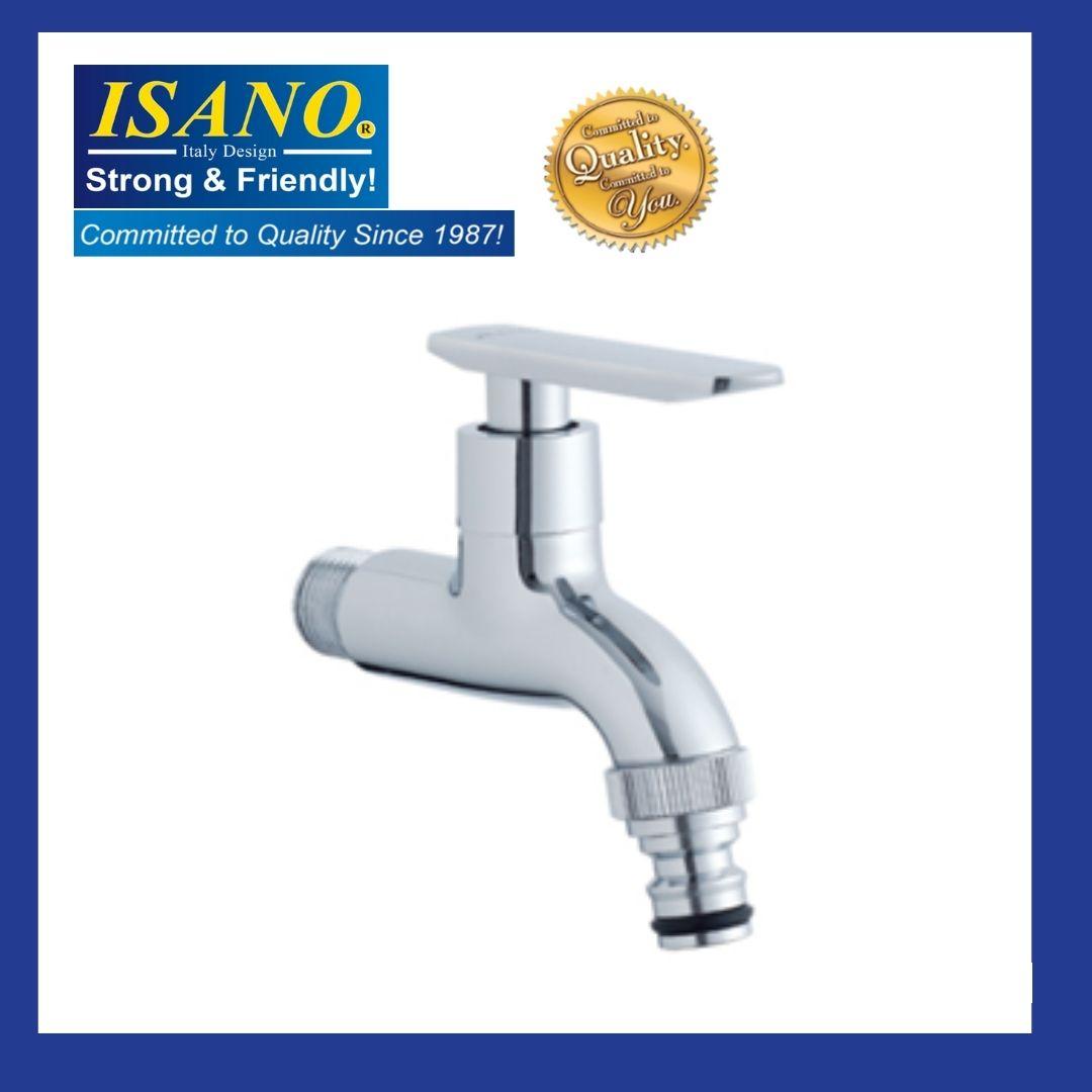 ISANO 1200BS Basin Wall Straight Water Tap Kitchen Bathroom Washroom Toilet Sink Bib Air Kepala Paip Faucet