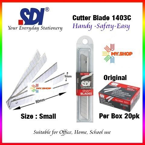 SDI Snap Blade Small / Refill For SDI Small Cutter Knife - 1403C