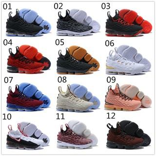 9a08c5e095d 2018 Original Nike Lebron James 15 LBJ15 Men Basketball Shoes Black Gole  Red