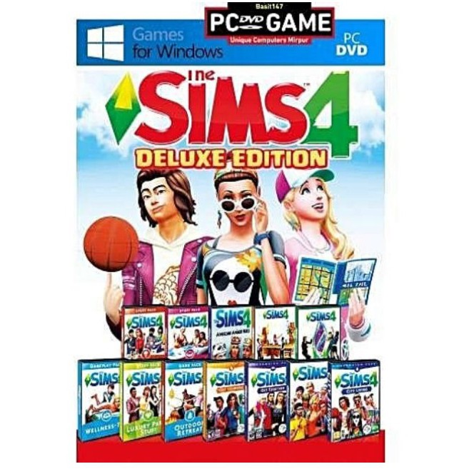 THE SIMS 4 DELUXE EDITION COMPLETE EDITION (PC DIGITAL DOWNLOAD)