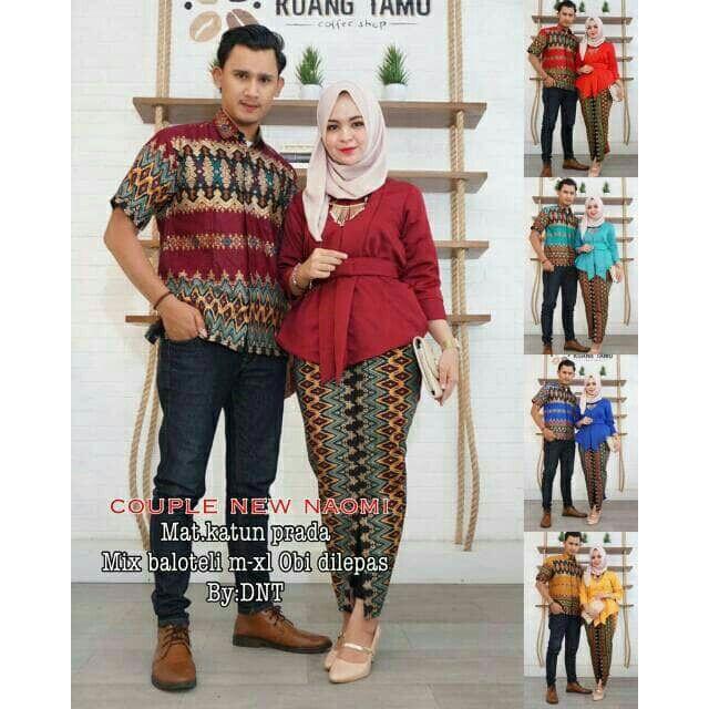 Set sedondon batik Maulana  99f57597d4