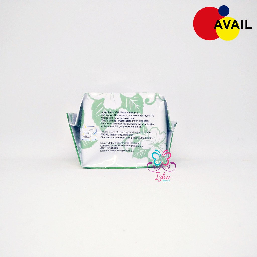 [AVAIL BEAUTY] Bio Sanitary Pads (Pantyliner) - 20pcs