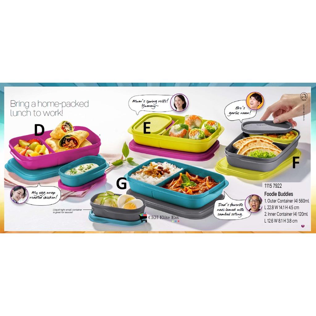 Tupperware Hearty Bites Lunch Box / Jollitup 1L