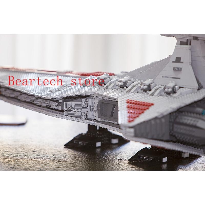 05077 Star Wars Ucs Venator Star Destroyer Toys Compatible Lego Moc 0694