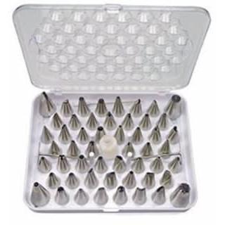 👍M'SIA AYU] 55PCS/SET ALATAN HIASAN KEK ICING / 55 PCS Piping Nozzles cake decoration stainless steel