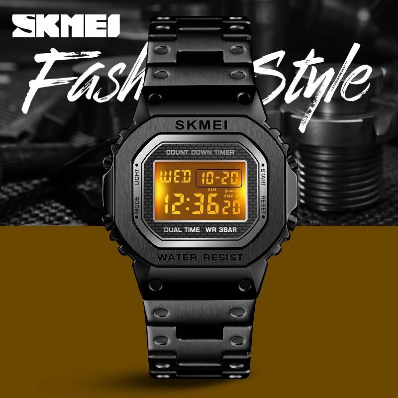 SKMEI 1456/1433 Couple Digital Watches Waterproof