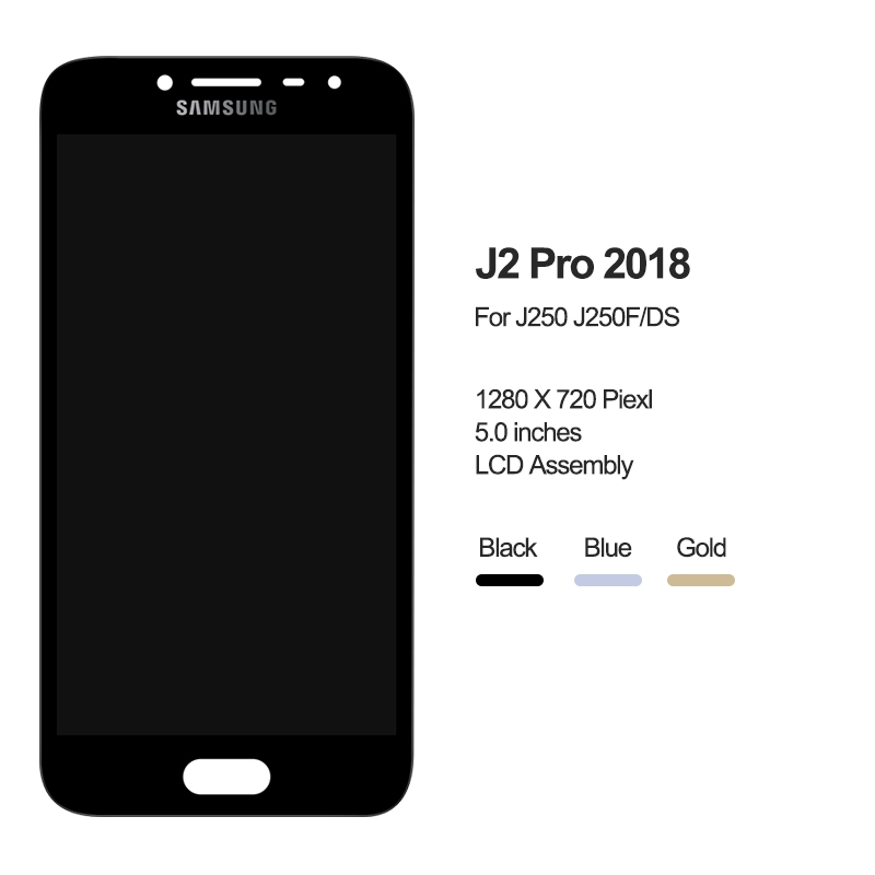 Samsung Galaxy J2 Pro 2018 Lcd Display Touch Screen Digitizer J250