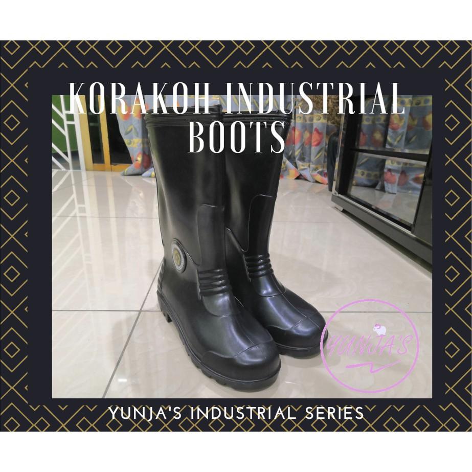 KORAKOH Industrial Boot Shoe PVC Rubber Long Boots 6000