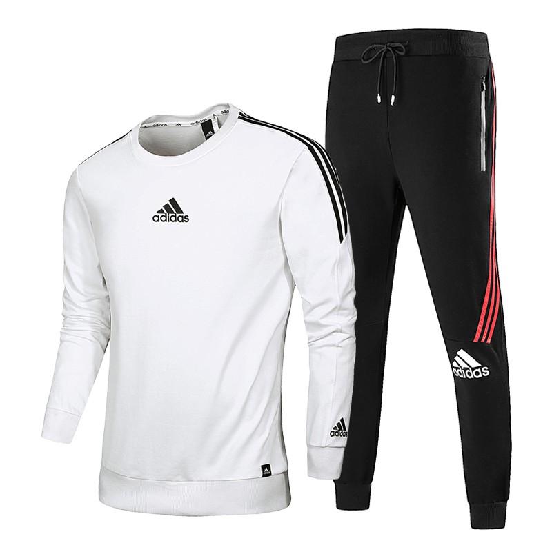 adidas sports suit sport tops pants casual set l 4xl