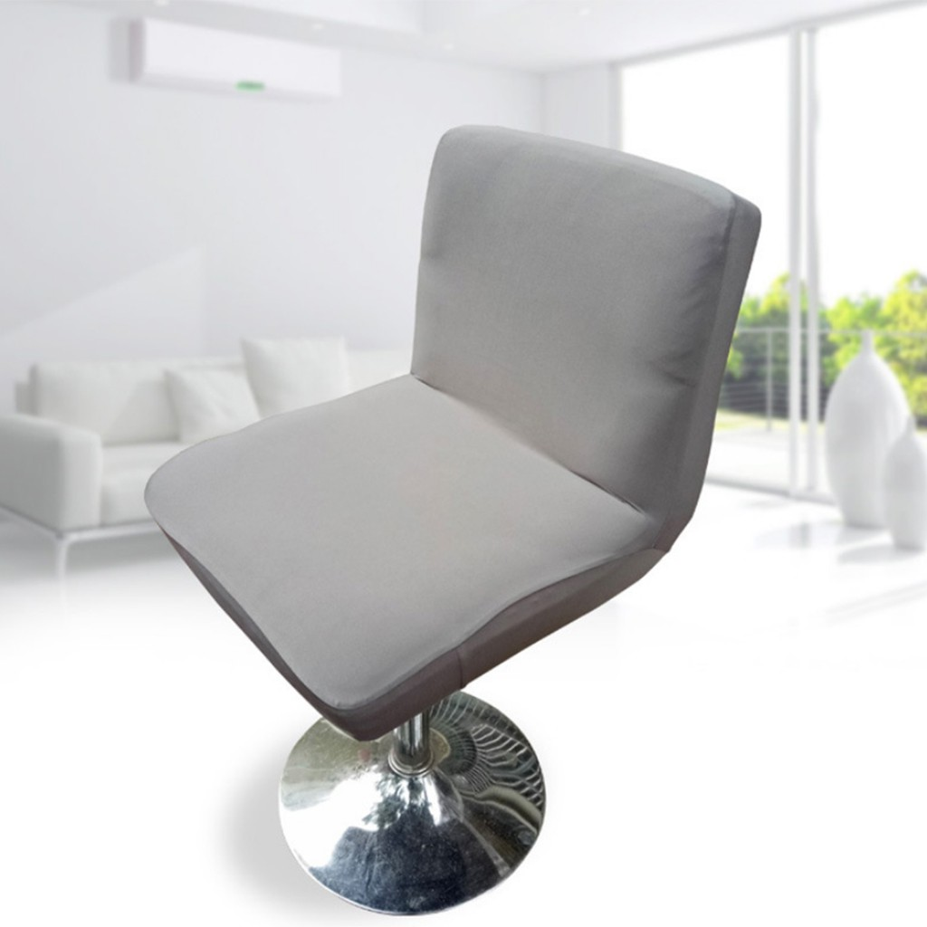 """Spandex Stretch Low Short Back Chair Cover Hotel Bar Stool Cover 13.7-17.7/"""""""
