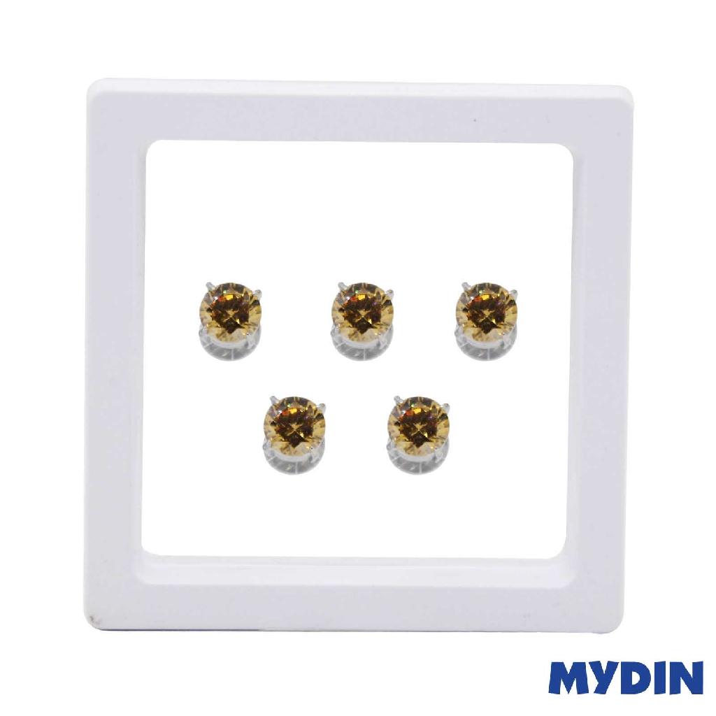 Armaan Button Zircon 10MM SACSDC-20 #Raya