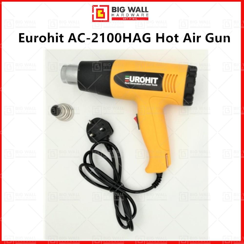 Eurohit AC-2100HAG Hot Air Gun Big Wall Hardware