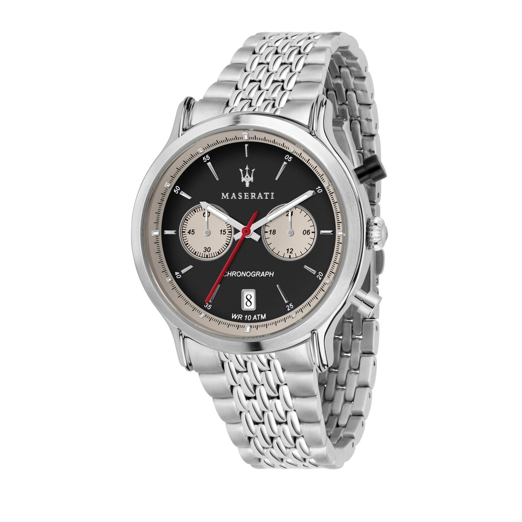 Maserati Legend Chronograph - Silver (42mm) R8873638001
