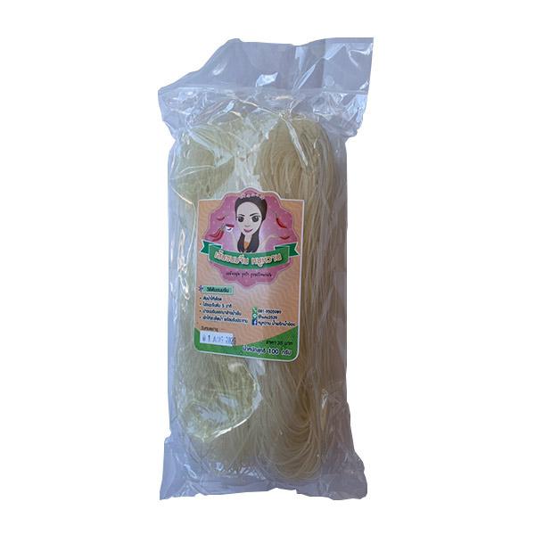 เส้นขนมจีนแห้ง ขนาด   100 กรัม by หมูหวาน น้ำพริกน้ำย้อย